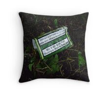 Tobacco Throw Pillow