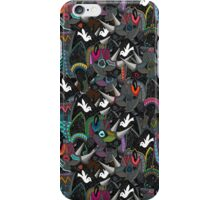 rhino party iPhone Case/Skin