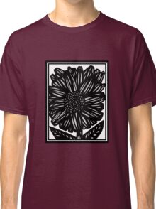 Fumarole Flowers Black and White Classic T-Shirt