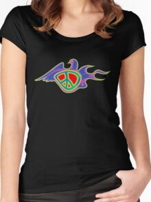 Peace Dove Women's Fitted Scoop T-Shirt