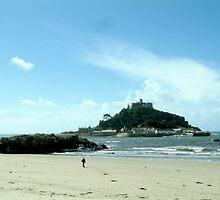St Michael's Mount, Marazion, Cornwall. by newbeltane