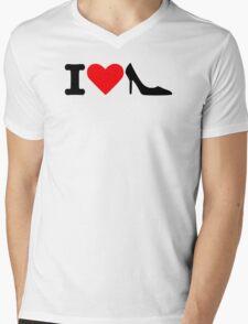I love Shoes Mens V-Neck T-Shirt
