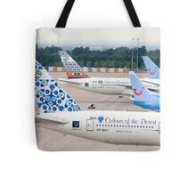 Plane Tails Tote Bag