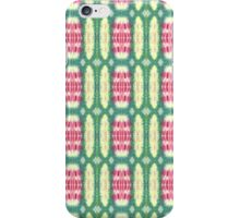 pink and green ovals iPhone Case/Skin