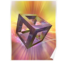 Cubed Reflections 01 Poster