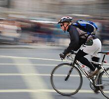 London cyclist by mojgan