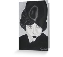 Silent Glamour by Artist ©Cindy Williams Greeting Card
