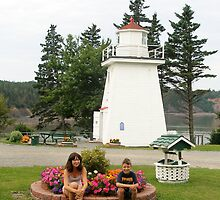 Melody & Douglas at Walton Lighthouse,Nova Scotia by sherryconley