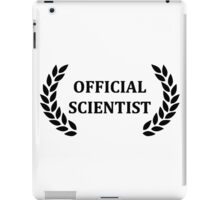 Official scientist iPad Case/Skin