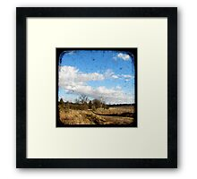 Bush Telegraph Framed Print