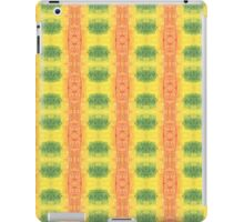 green and orange geo iPad Case/Skin