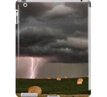 Prairie Storm Clouds ominous weather Saskatchewan Canada iPad Case/Skin