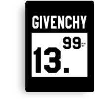 GIVENCHY 13.99(plus tax) Canvas Print