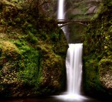Multnomah Falls Oregon majestic columbia river gorge by pictureguy