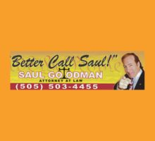 Better Call Saul - Bumper Sticker by CptNapalm