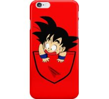 Pocket Saiyan iPhone Case/Skin