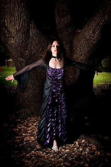 The sorceress by Seng Mah