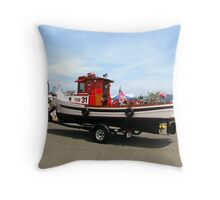Fire Boat # 31  Throw Pillow