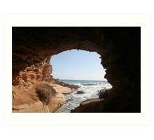Talia caves, Eyre peninsular, S.A. Art Print