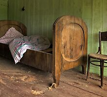 old bed by danapace