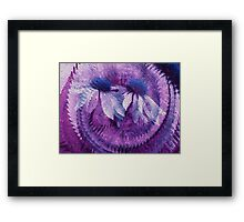 Lavender Blue-Available As Art Prints-Mugs,Cases,Duvets,T Shirts,Stickers,etc Framed Print
