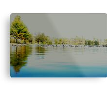 Boys Town Lake Metal Print