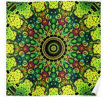 Color Glob Kaleidoscope Poster