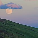Moon Over Trail Ridge by Gary Lengyel