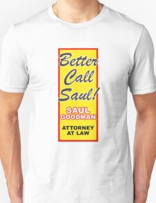 Better Call Saul - Vertical T-Shirt