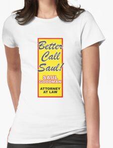 Better Call Saul - Vertical Womens Fitted T-Shirt