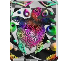 Geo Pshychedellic Turtles iPad Case/Skin