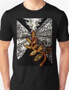 Black to Gold (some seek, some dissolve) T-Shirt