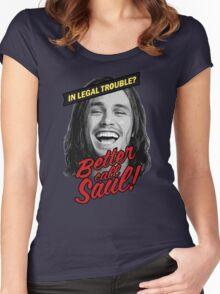 Better Call Saul - Pineapple Express Women's Fitted Scoop T-Shirt