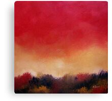 Tangerine Glow Canvas Print