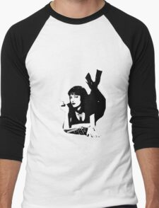 Pulp Fiction Mia Wallace Men's Baseball ¾ T-Shirt