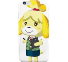 Isabelle Animal Crossing New Leaf Vector Print iPhone Case/Skin