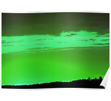 Green Sky -Available As Art Prints-Mugs,Cases,Duvets,T Shirts,Stickers,etc Poster