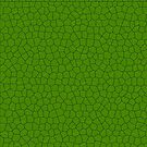 Dragon Scales- Green by Frazer Varney