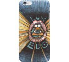 Lux Edo: Sentient Sacrement (color version) iPhone Case/Skin