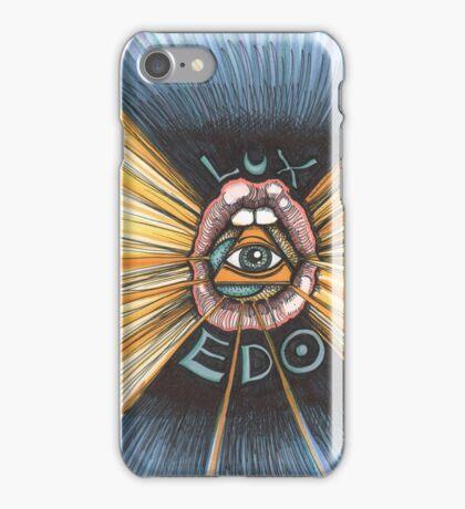 Lux Edo: Sentient Sacrement (color version) iPhone Case/Skin