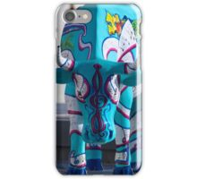 Painted Cow by Cathedral Youth, Ebrington Square Derry iPhone Case/Skin