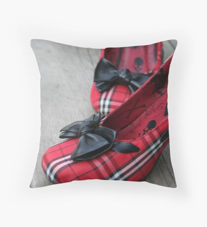 Heels Throw Pillow