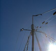 Mast of the Tallship, Virginia by drdkdover