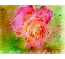 """Rose a Fantasy  / inspired by Georgia O""""Keefe Photographic Print"""