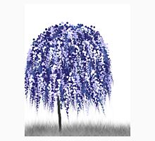 Blue Willow Tree Unisex T-Shirt