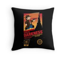 Tower of Darkness Throw Pillow