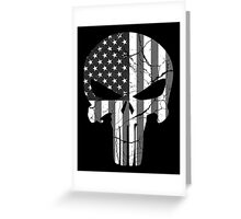 American Punisher - Subdued Greeting Card