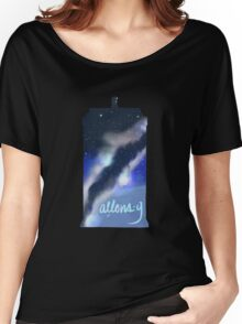 Allons-Y Tardis Women's Relaxed Fit T-Shirt
