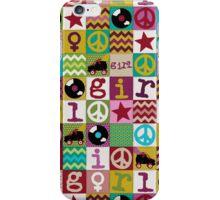 patch girl iPhone Case/Skin