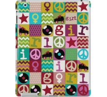 patch girl iPad Case/Skin